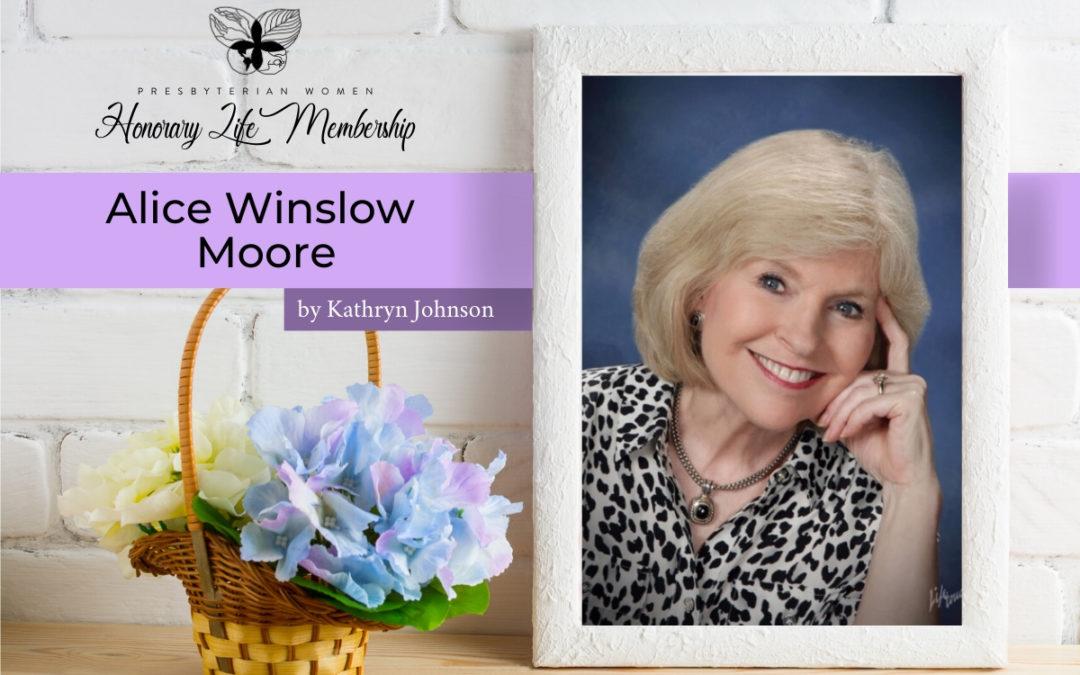 Honorary Life Member: Alice Winslow Moore