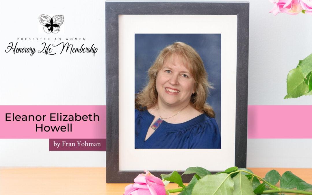 Honorary Life Member: Eleanor Elizabeth Howell