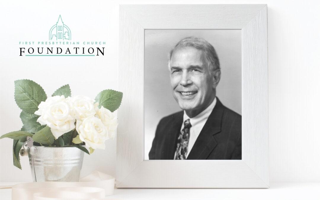 Rev. Dr. Edwin W. Stock, Jr., A Legacy of Giving