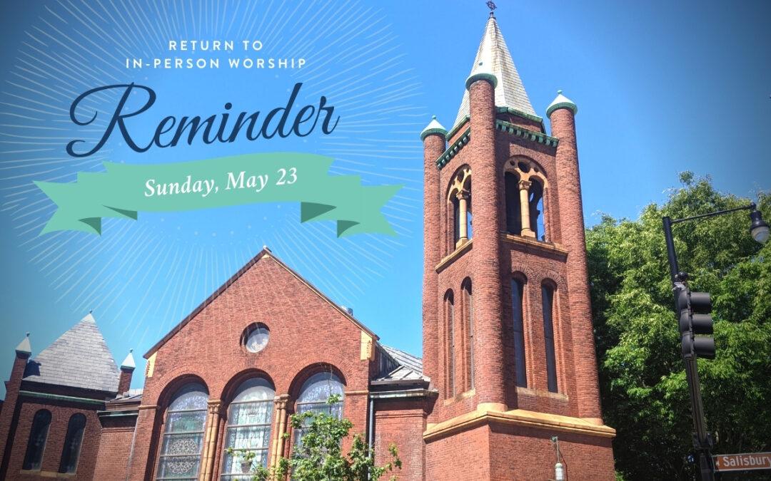 Reopening Reminder