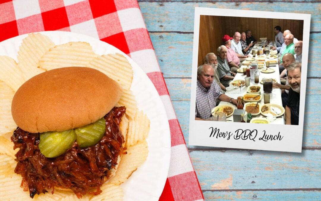 Men's BBQ Trips Resume!