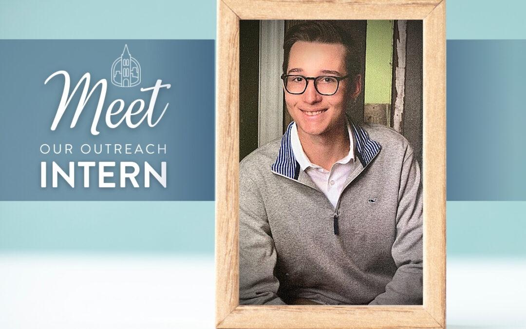 Meet Our Outreach Intern: Luke Brown